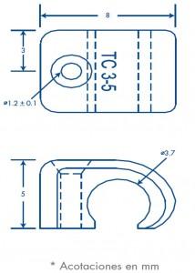 medida sujethor tc 3-5