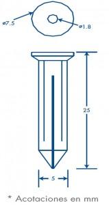 medidas clavithor amarillo
