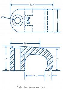 medidas sujethor 5x8