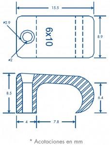 medidas sujethor 6x10