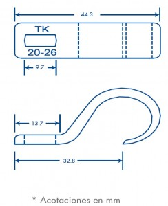 medidas sujethor tk 20-26