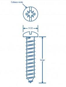 medidas thornillo 10