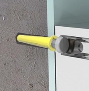 aplicación taquete amarillo