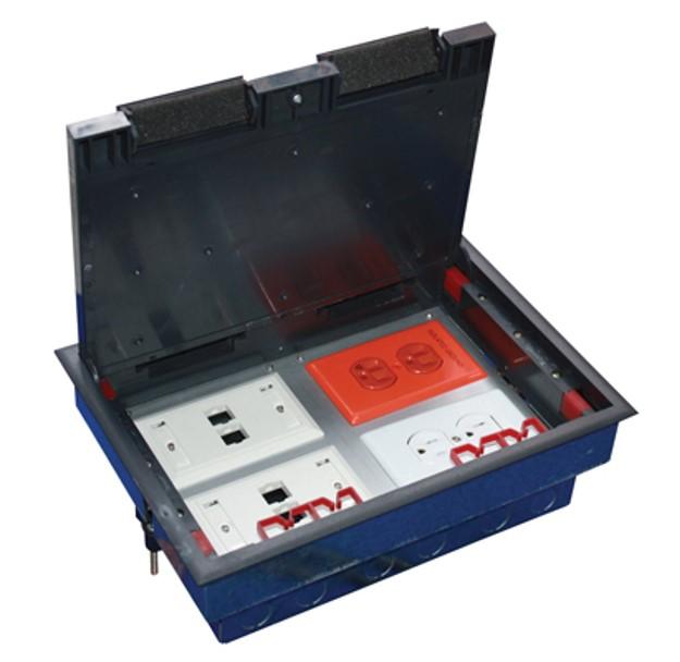 Caja de piso 4 m dulos for Pisos de bancos y cajas