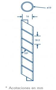 medidas agrupathor 19 mm