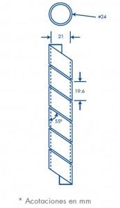 medidas agrupathor 24 mm