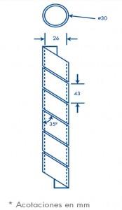 medidas agrupathor 30 mm
