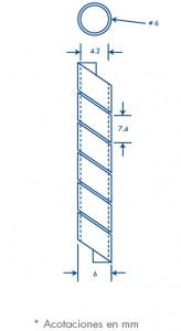 medidas agrupathor 6 mm