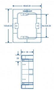 medidas caja TMK