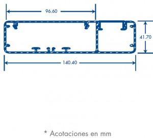 medidas canal inka 140