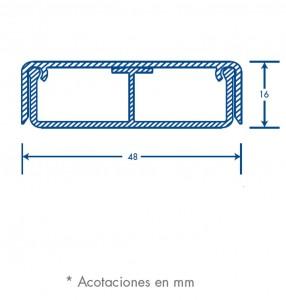 medidas canal pt 48