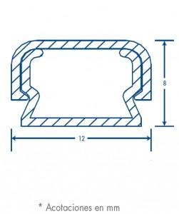 medidas canal tmk 0812