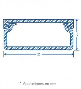 medidas canal tmk 1020 sin division