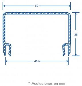medidas canal trl 50