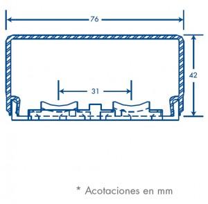 medidas canal trl 76