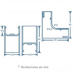 medidas esquinero interior tmk 0812