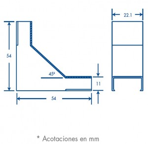 medidas esquinero interior tmk 1020