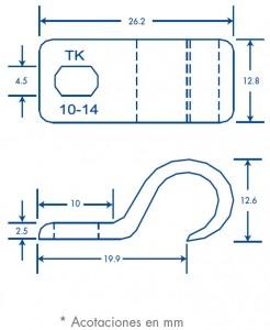 medidas juego de fijación tk 10-14
