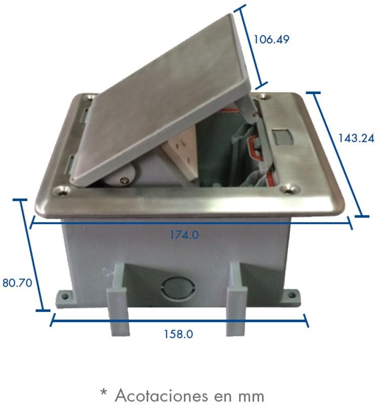 Caja de piso resistente al agua - Pegamento para plastico resistente al agua ...