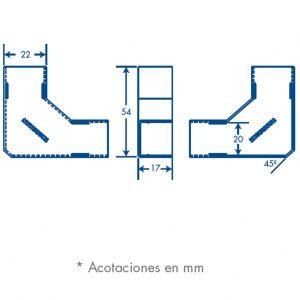 medidas seccion L TMK 1720