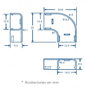 medidas seccion L tmk 0812