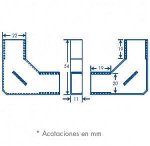 medidas seccion L tmk 1020