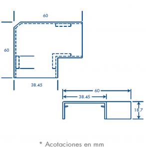 medidas seccion L tmk 1735
