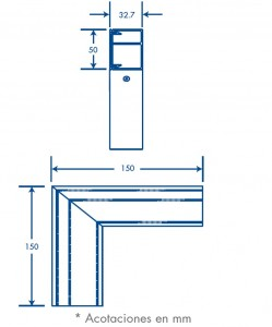medidas seccion l sl 50