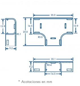 medidas seccion t tmk 0812