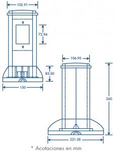 medidas torre de piso