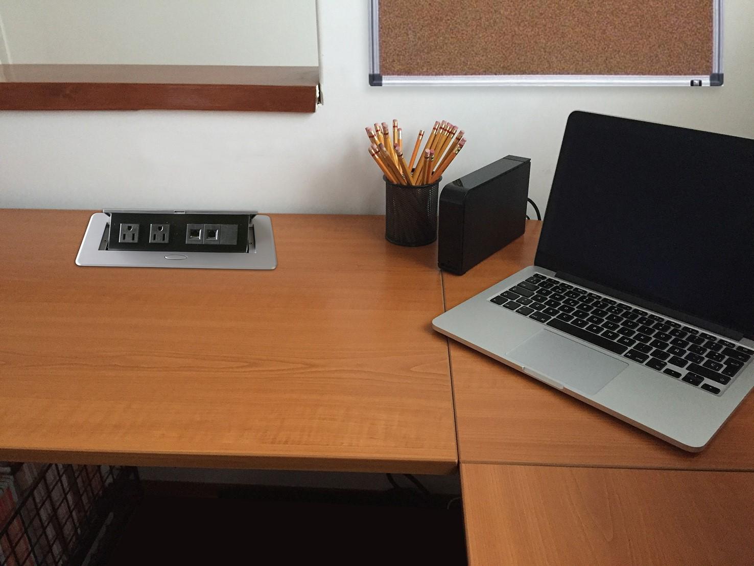 Caja horizonthal de escritorio - Escritorio pared ...