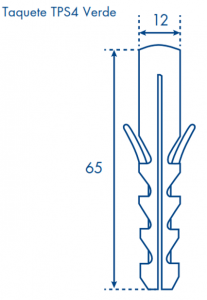 dimensiones taquete TPS verde