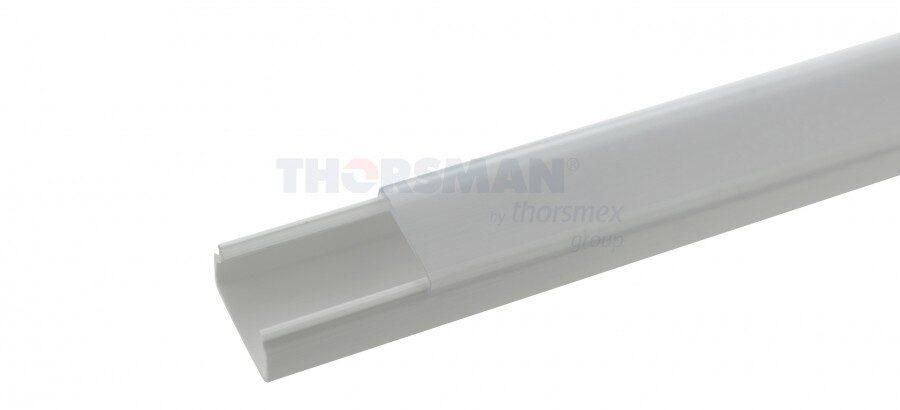 Canaleta TMK1020 con tapa transparente
